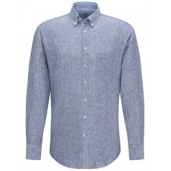 Casual fit: linen shirt by Fynch Hatton