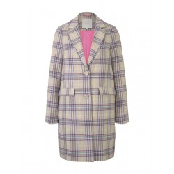 Checked coat by Tom Tailor Denim