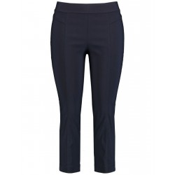 Stretchy, comfortable 3/4-length trousers Lucy by Samoon