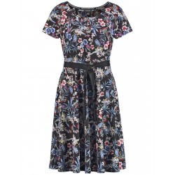 Slinky dress with a floral print by Taifun