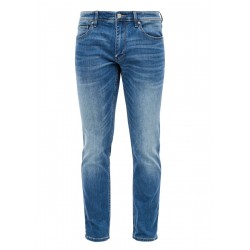 Regular Fit: Tapered leg-toile de jean by s.Oliver Red Label