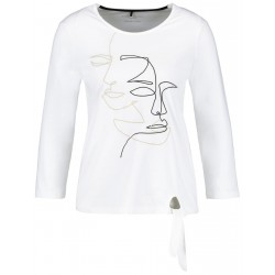 3/4 Arm Shirt mit Face-Print by Gerry Weber Casual