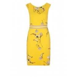 Dress with a floral pattern by s.Oliver Black Label