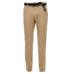 Slim Fit: Straight leg-trousers by s.Oliver Red Label