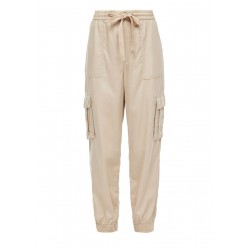 Relaxed Fit: cargo-style trousers by Q/S designed by