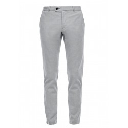 Slim Fit: Straight leg-trousers by s.Oliver Black Label