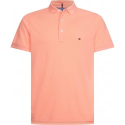 Pure cotton slim fit polo by Tommy Hilfiger