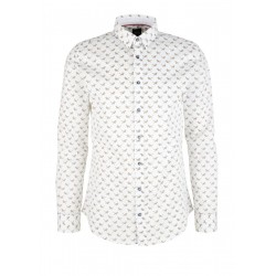 Shirt with a fashionable multiprint by s.Oliver Black Label