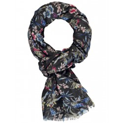 Scarf with a floral print by Taifun