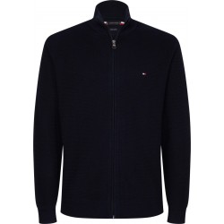 Zip-through knit by Tommy Hilfiger