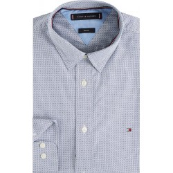 Gometric soft touch slim fit shirt by Tommy Hilfiger
