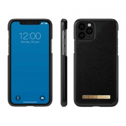Mobile phone case - SAFFIANO BLACK by iDeal of Sweden