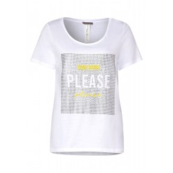 T-shirt avec strass by Street One