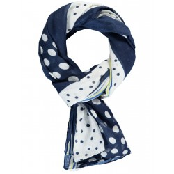 Scarf with polka dots by Samoon