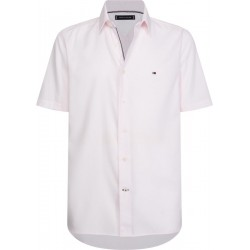 Micro dot short sleeve slim fit shirt by Tommy Hilfiger