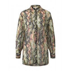 Oversized blouse with a snake print by Tom Tailor Denim