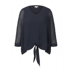 Kimono blouse made from a mix of materials by Tom Tailor