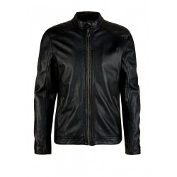 Leather jacket by Q/S designed by