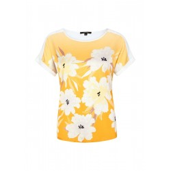 Satin T-shirt by Comma