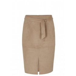 Regular Fit: Imitation leather skirt by s.Oliver Black Label