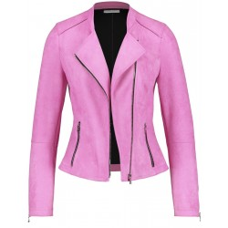 Zip-up blazer with a suede feel by Gerry Weber Collection