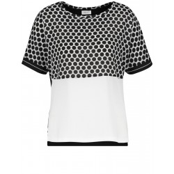 1/2-length sleeve top in a panelled look by Gerry Weber Collection