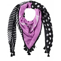 Patterned scarf with tassels by Gerry Weber Collection