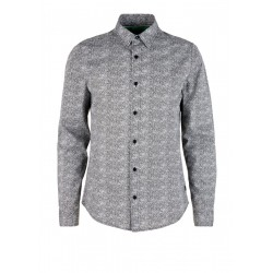 Slim : chemise à motif all-over by s.Oliver Red Label
