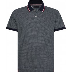 Polo à micro-motif by Tommy Hilfiger