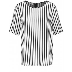 1/2-length sleeve blouse with vertical stripes by Gerry Weber Collection
