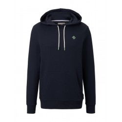 Hoodie with a logo print by Tom Tailor Denim