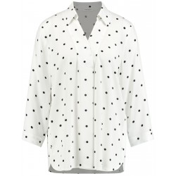 Oversize-Bluse mit Punkten by Gerry Weber Collection