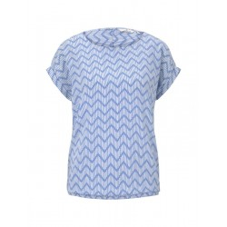 Blouse with an all-over print by Tom Tailor