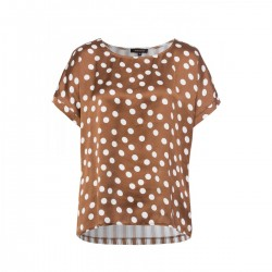 Dotted Jersey Blouse by More & More