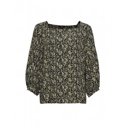 Blouse with print Farrie flower by Opus