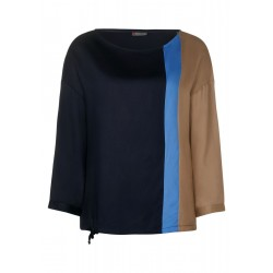 Bluse mit Colourblock by Street One
