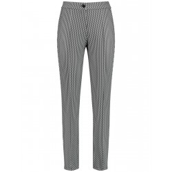Trousers with mini dots by Gerry Weber Collection