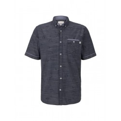 Fine striped short-sleeved shirt by Tom Tailor