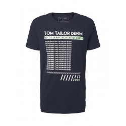 T-shirt with a print by Tom Tailor Denim