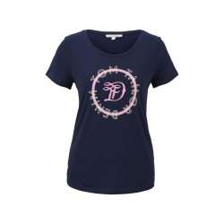T-shirt avec logo imprimé by Tom Tailor Denim