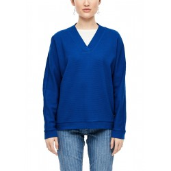 Sweatshirt with batwing sleeves by s.Oliver Red Label