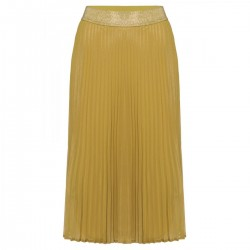 Shiny Plisse Skirt by More & More