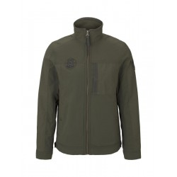 Moderne Jacke im Material-Mix by Tom Tailor