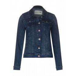 Blaue Denimjacke by Cecil