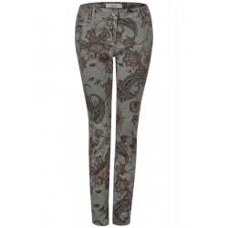 Paisley trousers by Cecil