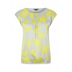 Mixed fabric Top by Comma