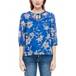 Floral chiffon blouse by s.Oliver Red Label