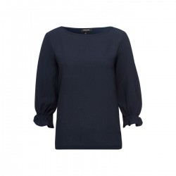 Ruffled Sleeve Shirt by More & More