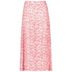 Maxi skirt with a snakeskin print by Taifun