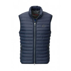 Quilted gilet with Slow Down - No Down padding by Marc O'Polo